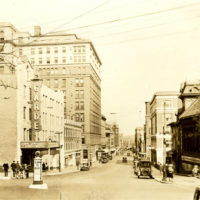 View of State Street from Huntington Street